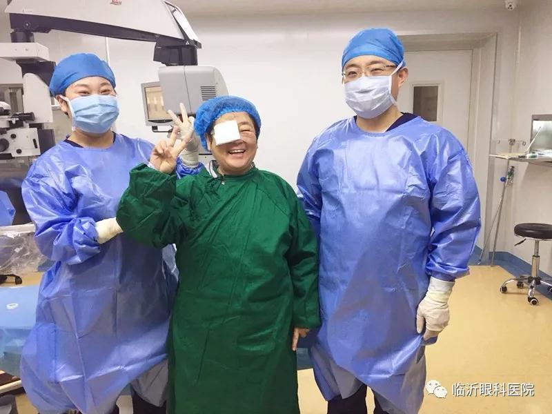 【爱心义诊】临沂眼科医院(华厦眼科医院集团)助力百人 重塑光明!